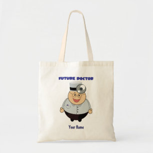Personalized Future Doctor Shirt Cute Tote Bag