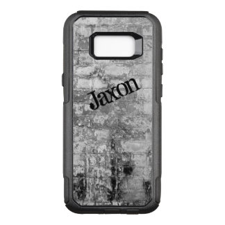 Personalized Galaxy 7 Case | Black, White Bricks