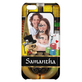 Personalized gambler cover for iPhone 5C