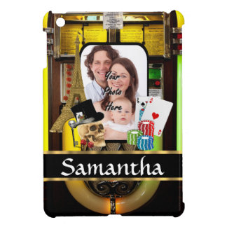 Personalized gambler cover for the iPad mini