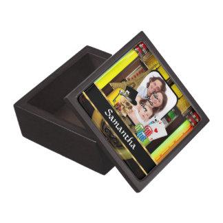 Personalized gambler gift box