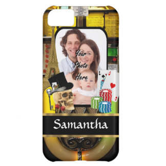 Personalized gambler iPhone 5C case