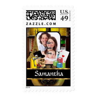 Personalized gambler stamps