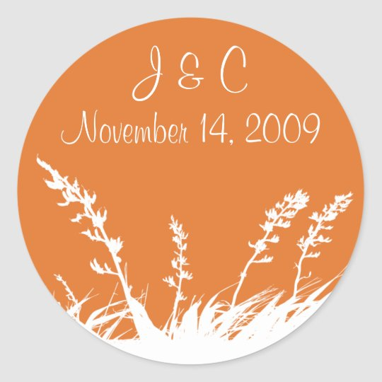 Personalized Garden Silhouette Envelope Seal