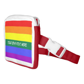 Personalized Gay Pride Rainbow Fanny Pack