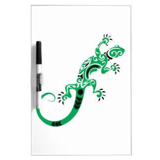 Personalized Gecko Lizard Dry-Erase Board