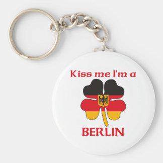 Personalized German Kiss Me I m Berlin Keychains