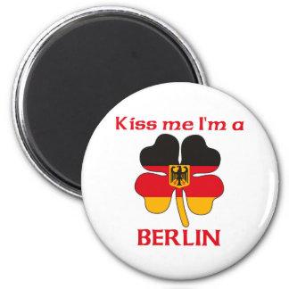 Personalized German Kiss Me I m Berlin Refrigerator Magnet