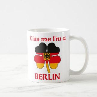 Personalized German Kiss Me I m Berlin Mugs