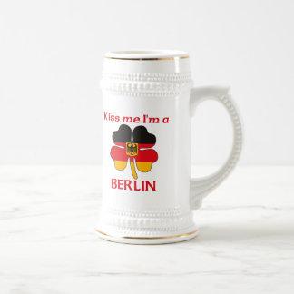 Personalized German Kiss Me I m Berlin Coffee Mug