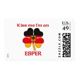 Personalized German Kiss Me I m Esper Stamps