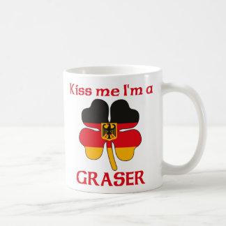 Personalized German Kiss Me I'm Graser Classic White Coffee Mug