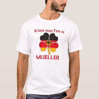Personalized German Kiss Me I'm Mueller T-Shirt