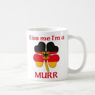 Personalized German Kiss Me I'm Murr Classic White Coffee Mug