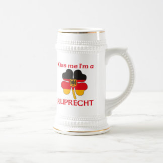 Personalized German Kiss Me I'm Ruprecht Beer Stein