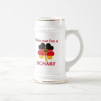 Personalized German Kiss Me I'm Scharf Mug