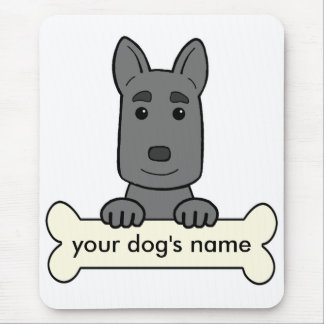 Personalized German Shepherd Mouse Pad