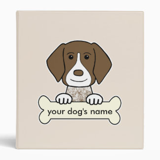 Personalized German Shorthaired Pointer 3 Ring Binder