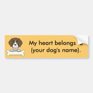 Personalized German Shorthaired Pointer Car Bumper Sticker