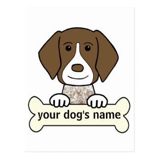 Personalized German Shorthaired Pointer Postcard