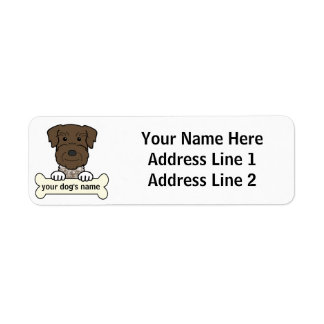 Personalized German Wirehaired Pointer Custom Return Address Label
