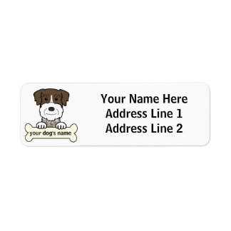 Personalized German Wirehaired Pointer Return Address Labels