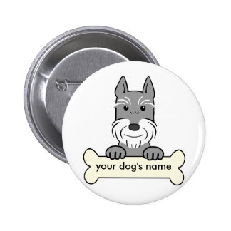Personalized Giant Schnauzer Buttons