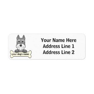 Personalized Giant Schnauzer Custom Return Address Label