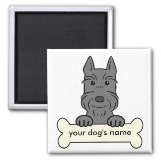 Personalized Giant Schnauzer Magnet