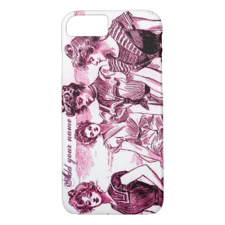 Personalized Gibson Girl iPhone 8/7 Case