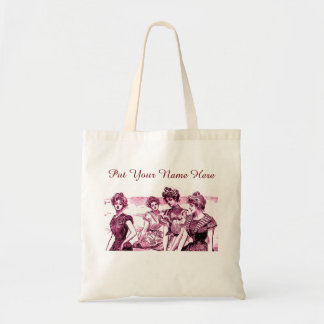 Personalized Gibson Girl Tote Bag