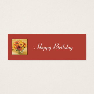 Personalized Gift Tag_1 Mini Business Card