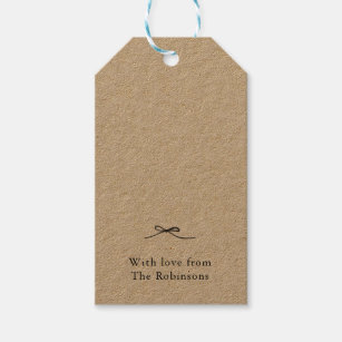 fabe4dca6250 Personalized Gift Tags with Bow