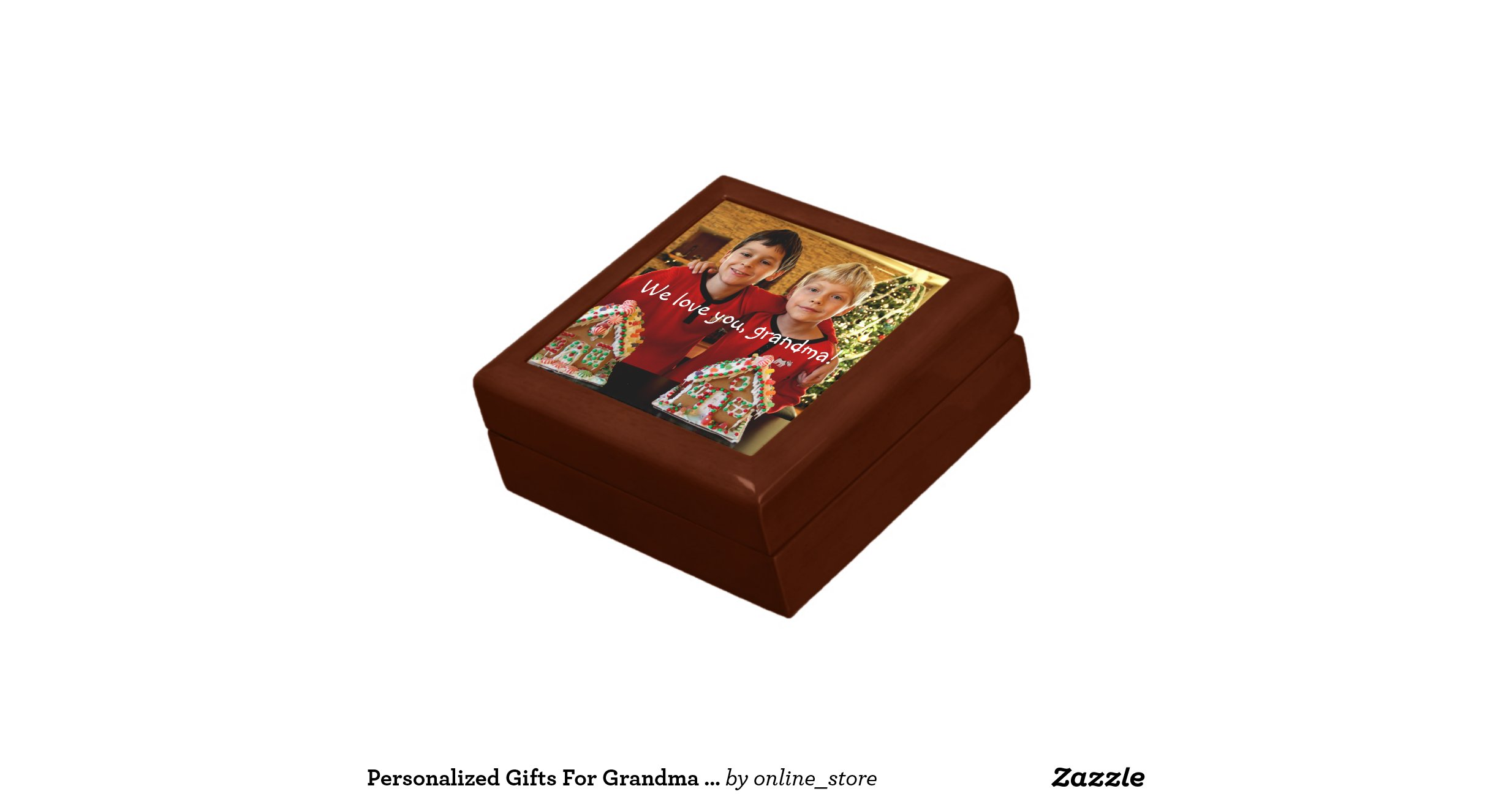 Personalized gifts for grandma small gift box