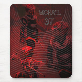 Personalized Gifts for Lacrosse Players Mouse Pad