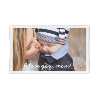 Personalized Gifts For Mom Small Serving Trays