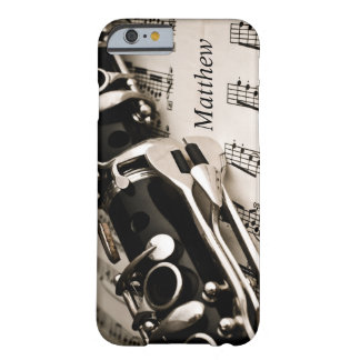 Personalized Gifts for Oboists Clarinetists Barely There iPhone 6 Case