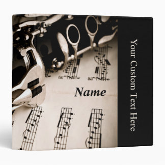 Personalized Gifts for Oboists Clarinetists Binder