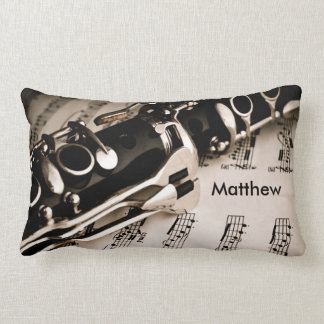 Personalized Gifts for Oboists Clarinetists Lumbar Pillow