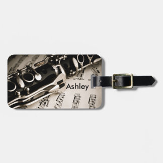 Personalized Gifts for Oboists Clarinetists Tag For Luggage