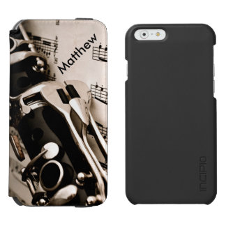 Personalized Gifts for Oboists Clarinetists Incipio Watson™ iPhone 6 Wallet Case