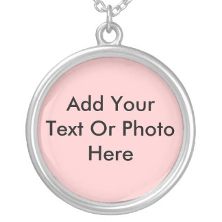 Personalized Gifts Silver Plated Necklace