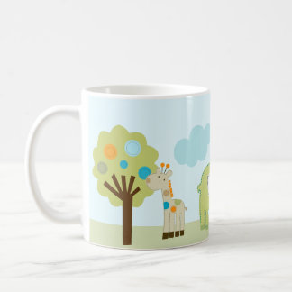 "Personalized ""Giggle Gang Animals"" Mug Adorable"