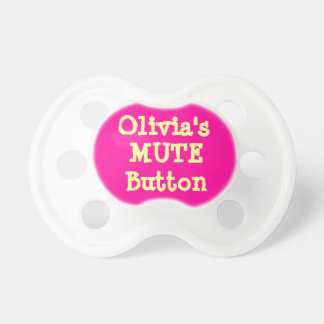 Personalized Girl s Baby Pacifier
