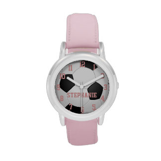 Personalized Girl s Soccer Ball Watch