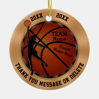 Personalized Girls Basketball Coach Gift, Ornament
