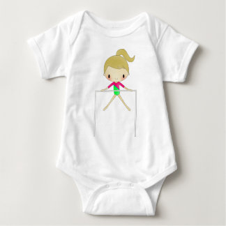 Personalized Girls Gymnastic apparel & accessories Baby Bodysuit