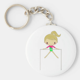 Personalized Girls Gymnastic apparel & accessories Keychain