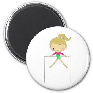 Personalized Girls Gymnastic apparel & accessories Magnet