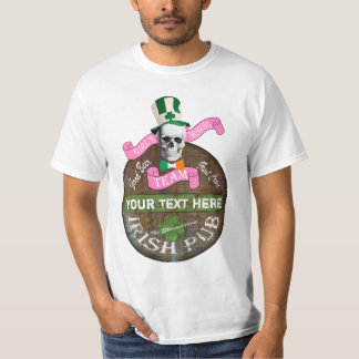 Personalized Girls irish drinking team St Patricks T-Shirt